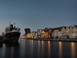 Sehenswürdigkeit in Danzig - der Hafen